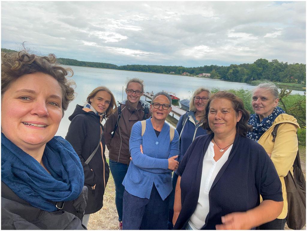 Unternehmerinnen in Oberhavel am Wutzsee